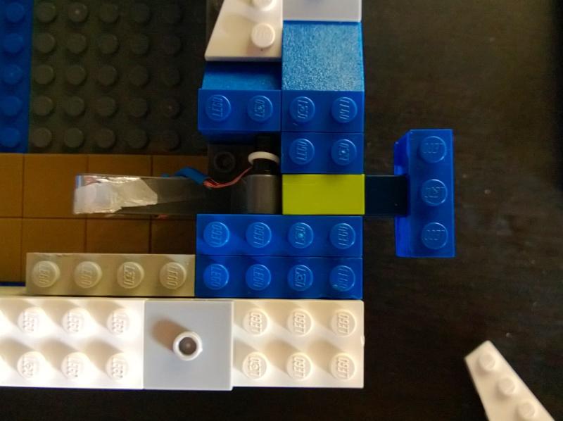Support flipper Pour Ipad mini en LEGO Marlou17