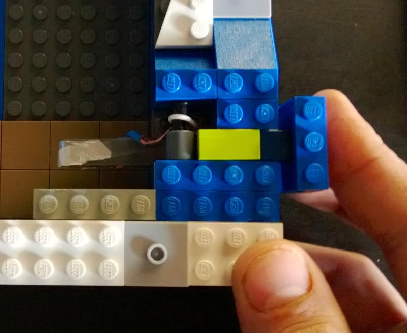 Support flipper Pour Ipad mini en LEGO Marlou18