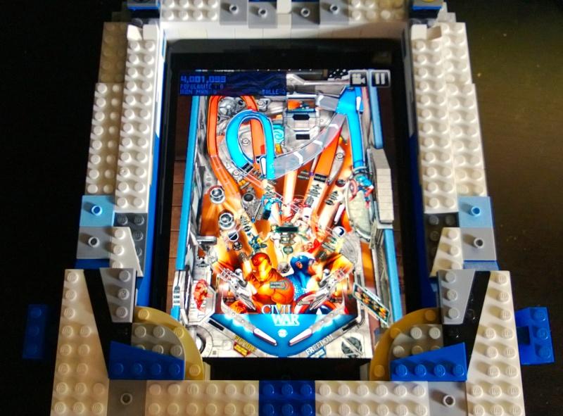 Support flipper Pour Ipad mini en LEGO Marlou19