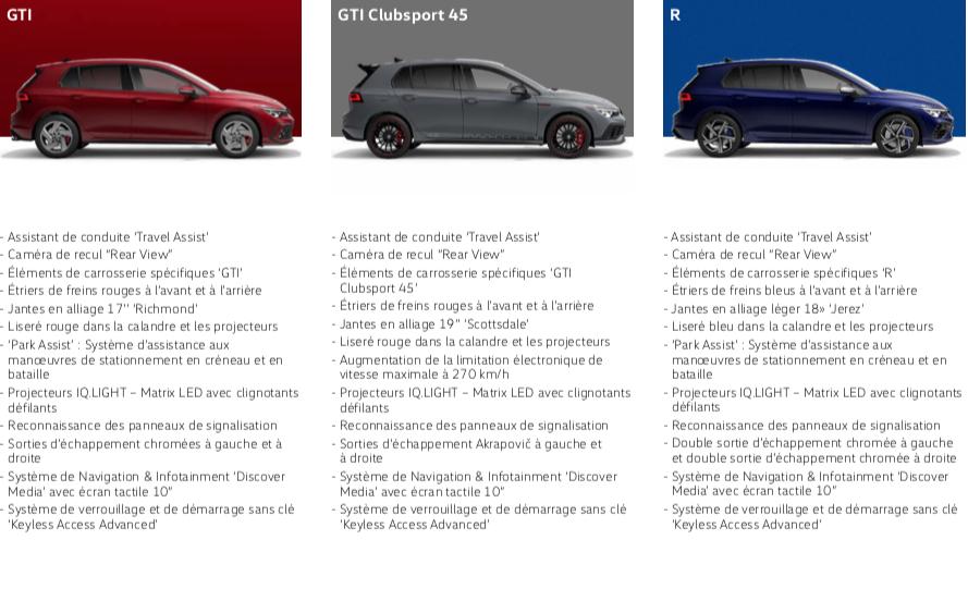 Golf GTI Clubsport 45 OPF (version commerciale) Sche1128