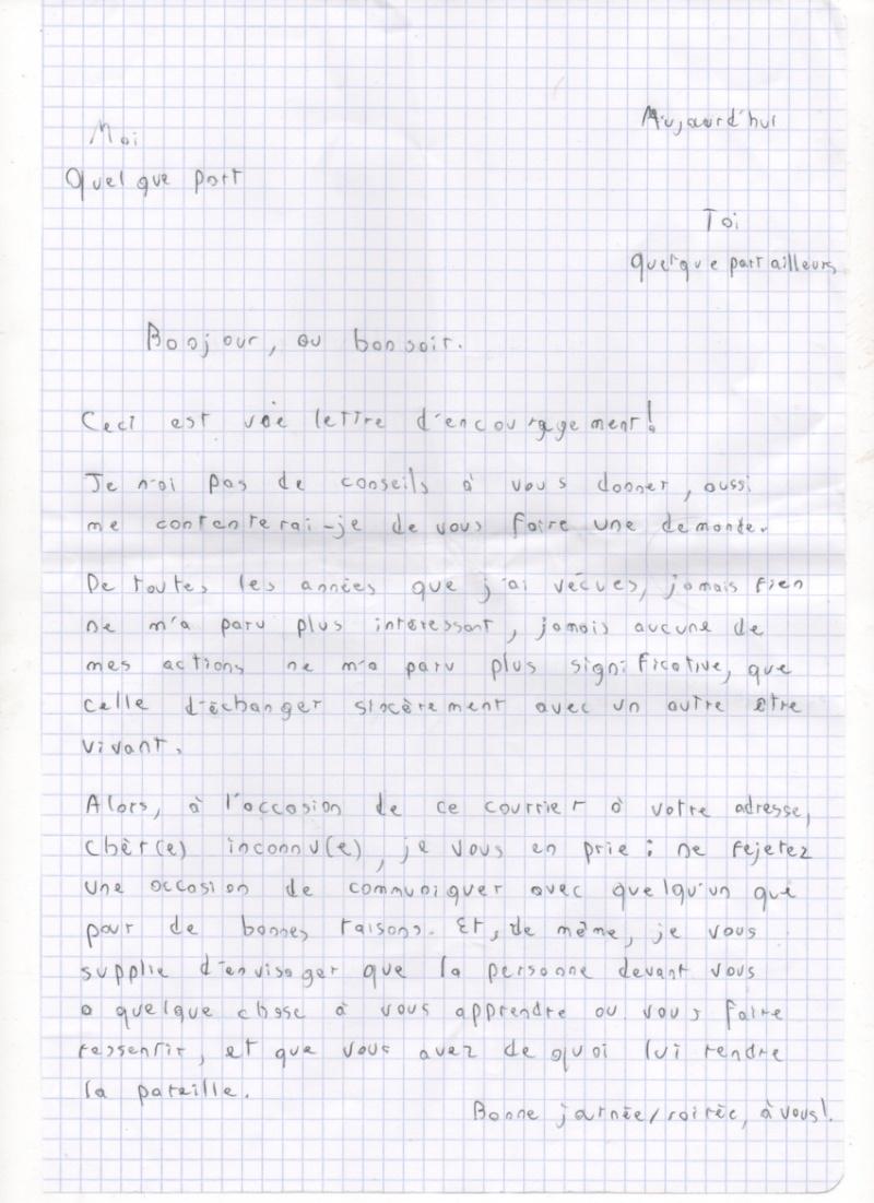 Les lettres inocentes Lettre10