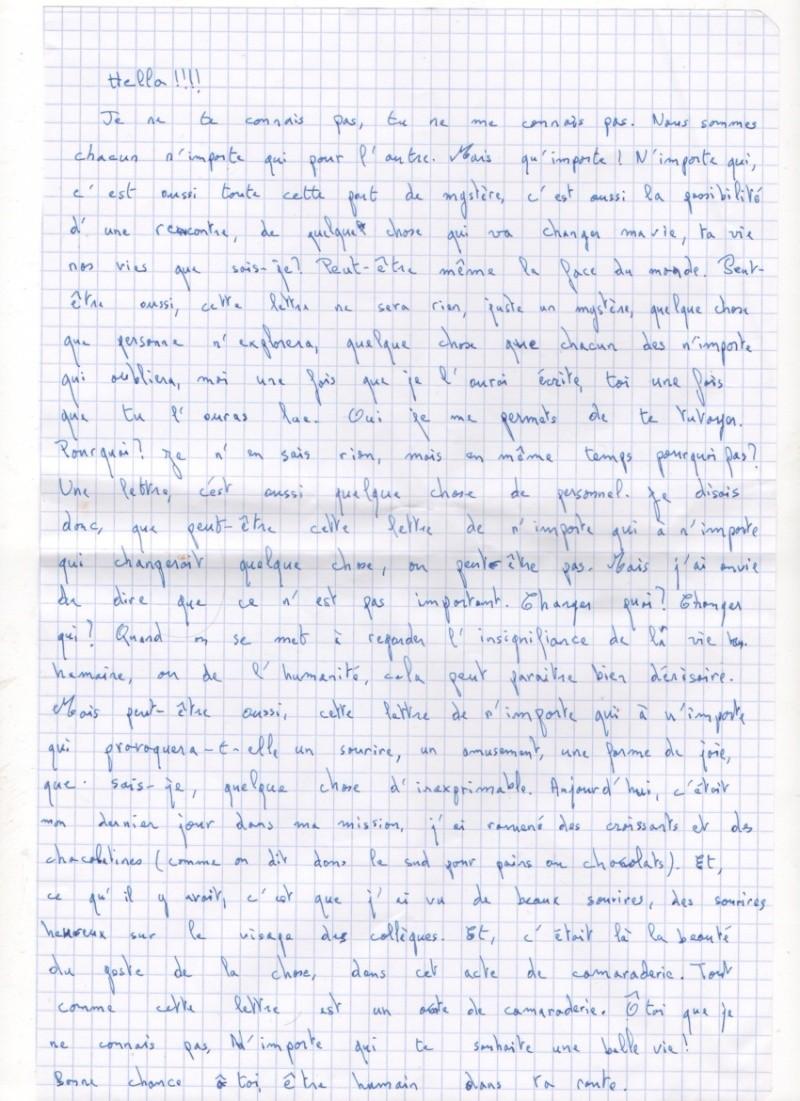 Les lettres inocentes Lettre11