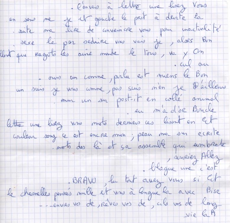 Les lettres inocentes Lettre14