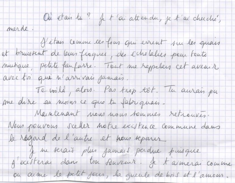 Les lettres inocentes Lettre19