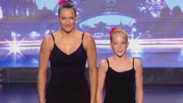 Gym acrobatique, Claire Philouze et Léa Roussel  02900110