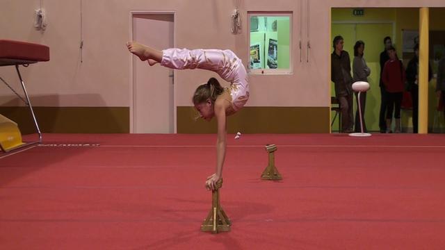 Gym acrobatique, Claire Philouze et Léa Roussel  34054010
