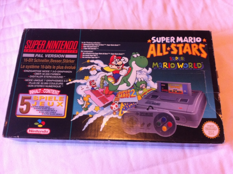 SNES Pack Mario All-Star + Mario World Img_2310