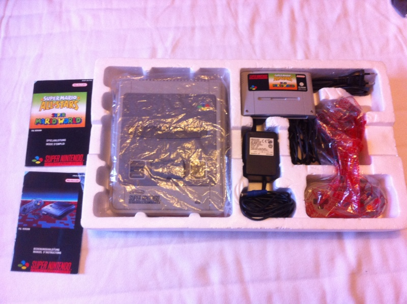 SNES Pack Mario All-Star + Mario World Img_2312