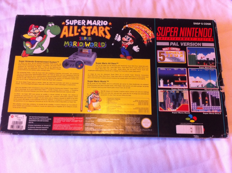 SNES Pack Mario All-Star + Mario World Img_2313