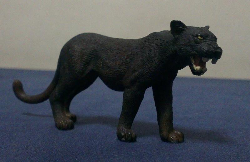 My Schleich Melanistic Leopard Panthe10