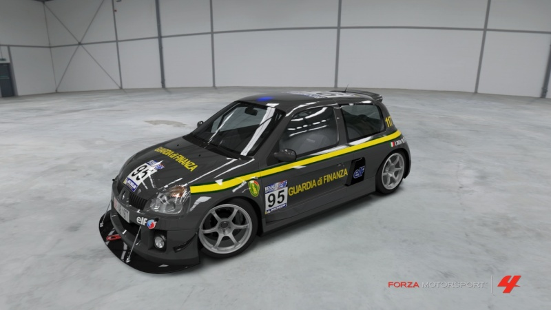 RENAULT CLIO V6 GdF Forza424