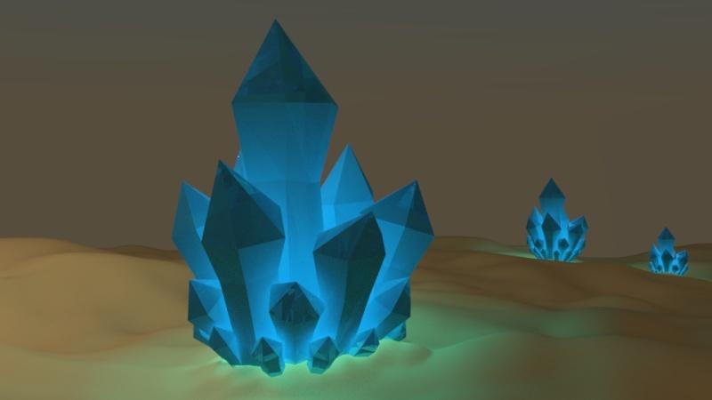 Belial's 3D progress Crysta10