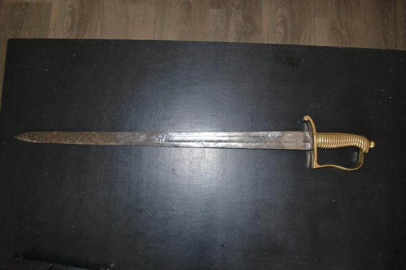 briquet napoléonien a lame droite pour identification  Dsc_0313