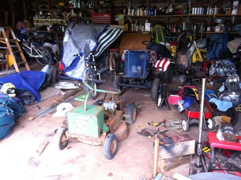 60's springfeild mini tractor speed mower.  11862010