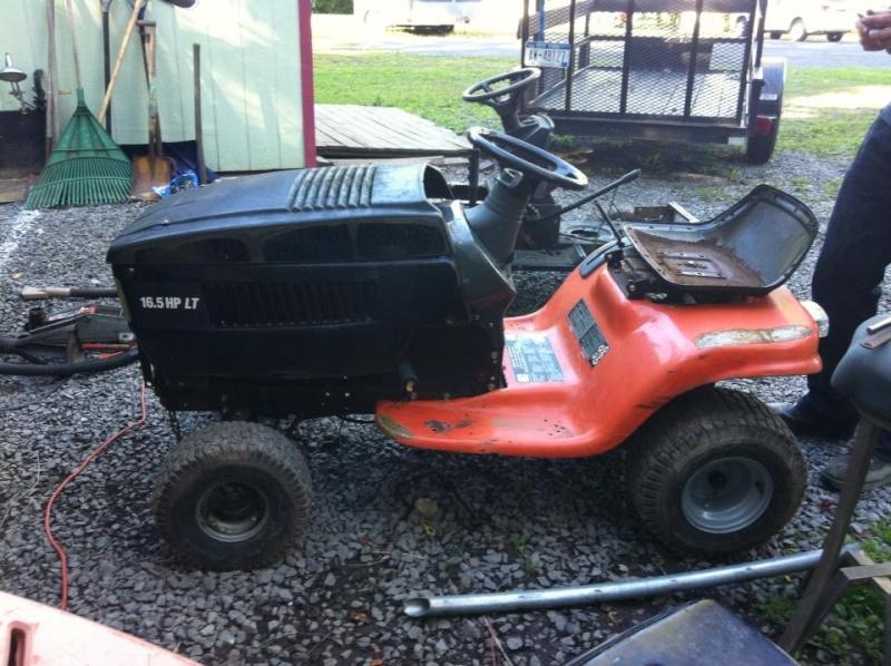 Husqvarna 90's rally mower.  12312211