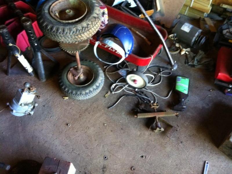 60's springfeild mini tractor speed mower.  12335010