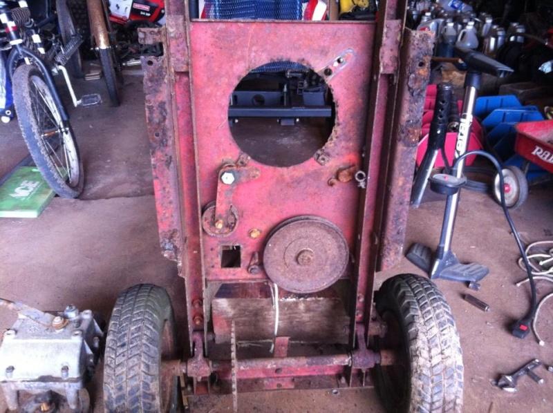 60's springfeild mini tractor speed mower.  12340510