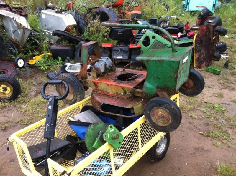 60's springfeild mini tractor speed mower.  12347_10