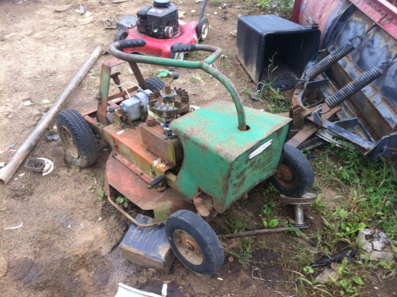 60's springfeild mini tractor speed mower.  12366512