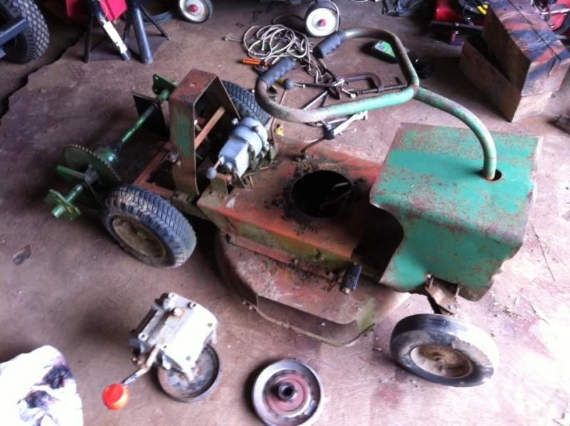 60's springfeild mini tractor speed mower.  12378410