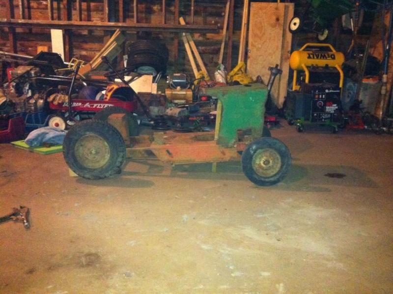 60's springfeild mini tractor speed mower.  13799210