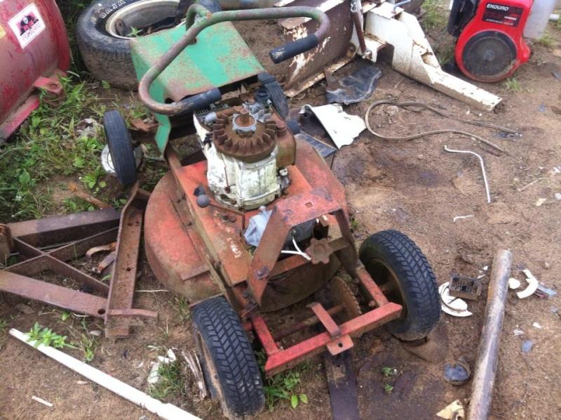 60's springfeild mini tractor speed mower.  48797211