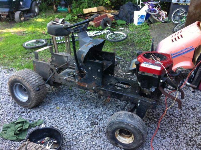 Husqvarna 90's rally mower.  52349411
