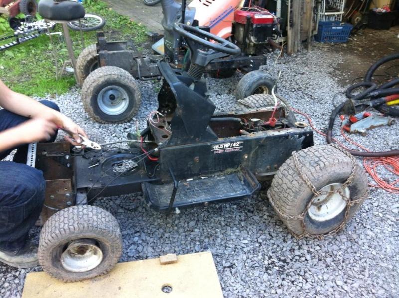 Husqvarna 90's rally mower.  53432110