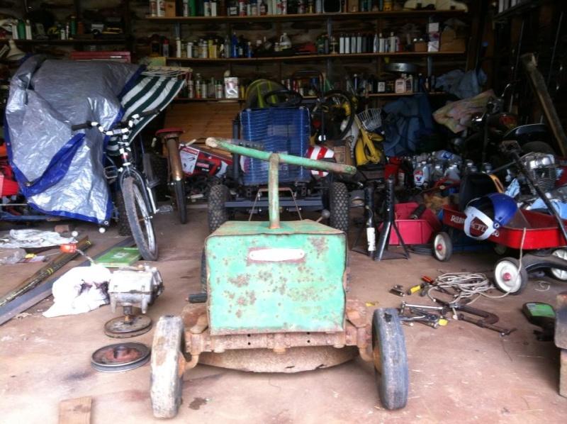 60's springfeild mini tractor speed mower.  99682910
