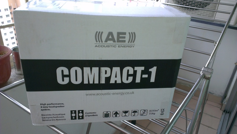 AE Compact 1 - Speaker (SOLD) Ae_210