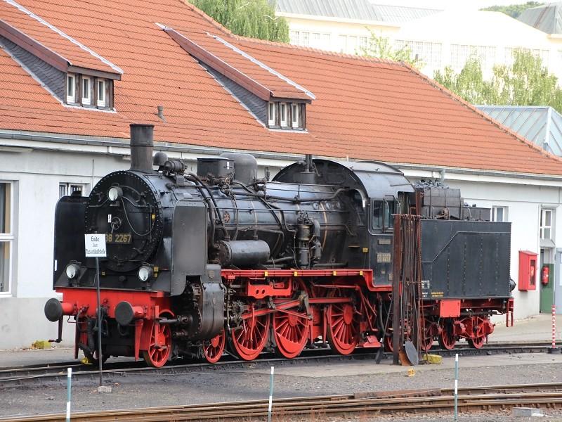 Dampflok im Landschaftspark Duisburg K-img_80