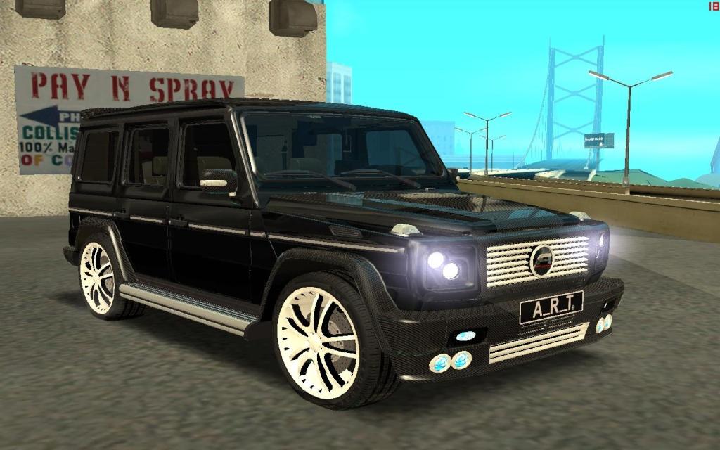 Mercedes Benz G500 A R T   13060510