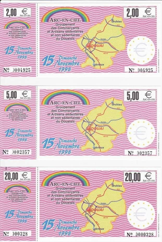 Premiers billets en Ecu/Euro Douai113