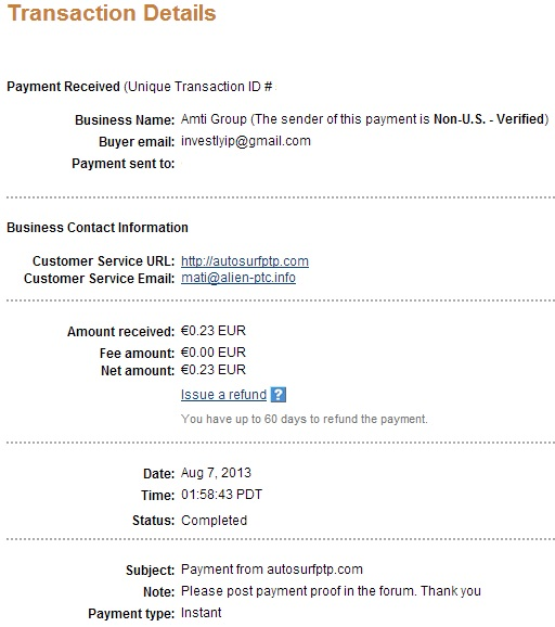 My payment-autosurfptp - Page 2 110