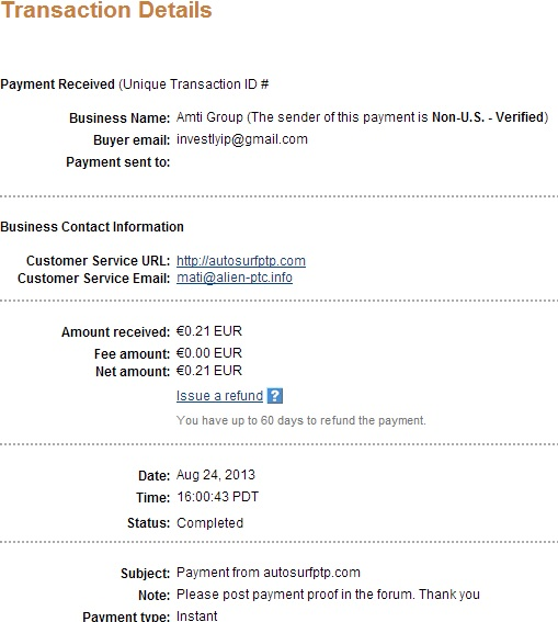 My payment-autosurfptp - Page 2 113