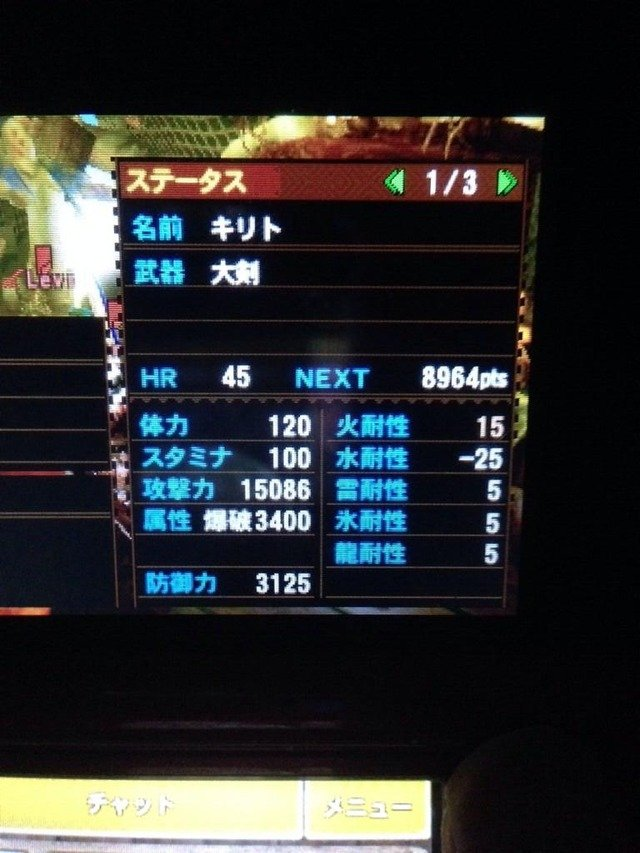 MH4 save file hacked? 13806210