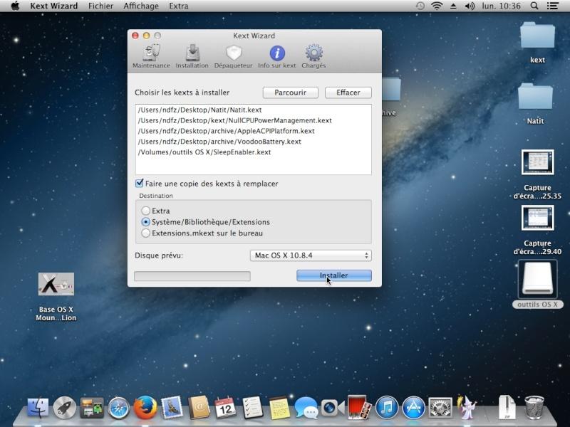 Tuto: OS X 10.8.4 sur  HP DV6 3075sf.  - Page 2 Captur20