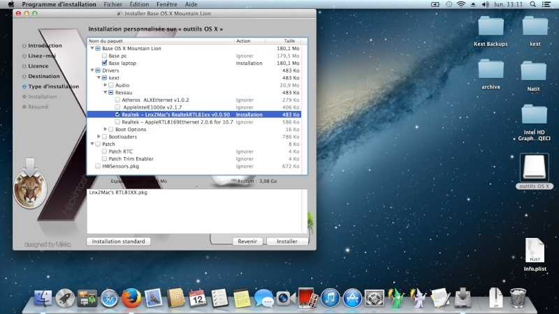 Tuto: OS X 10.8.4 sur  HP DV6 3075sf.  - Page 2 Captur28