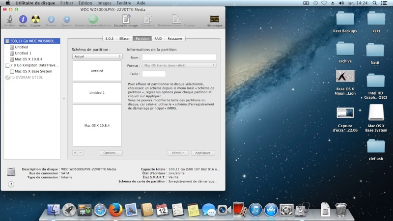 Tuto: OS X 10.8.4 sur  HP DV6 3075sf.  - Page 2 Captur32
