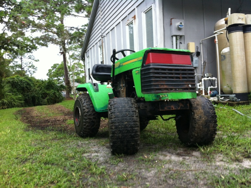 """""""THE BRUSHEATER"""" tractor build  Image102"""