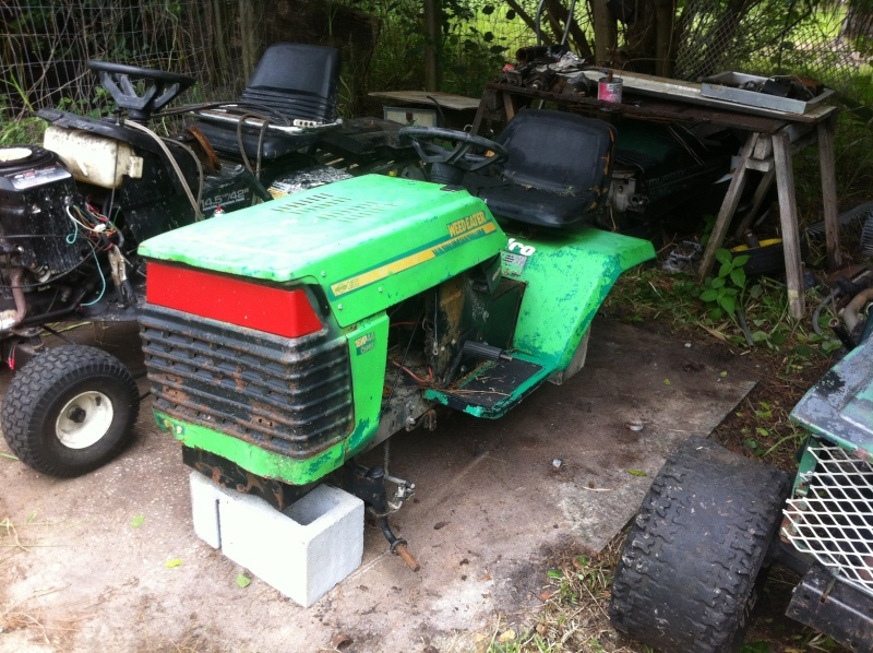 """""""THE BRUSHEATER"""" tractor build  Image84"""