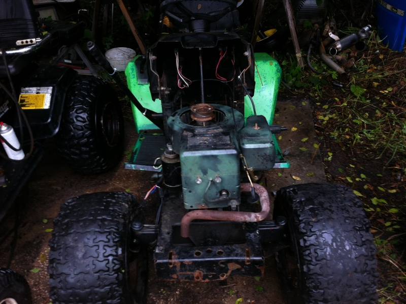 """""""THE BRUSHEATER"""" tractor build  Image90"""