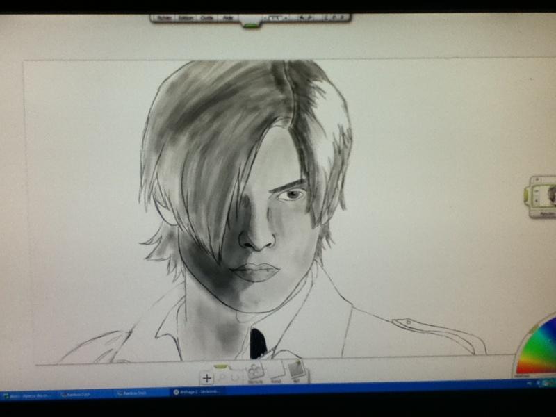mes dessins :)  Leon10