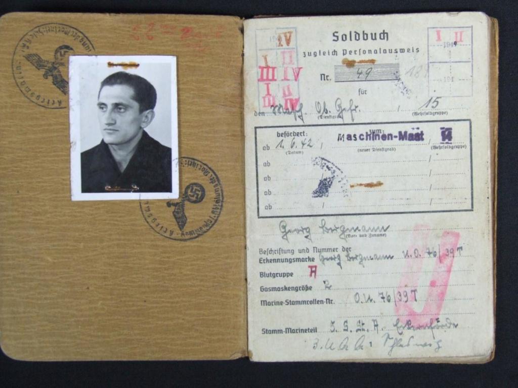 Soldbuch U-358 U_358_10