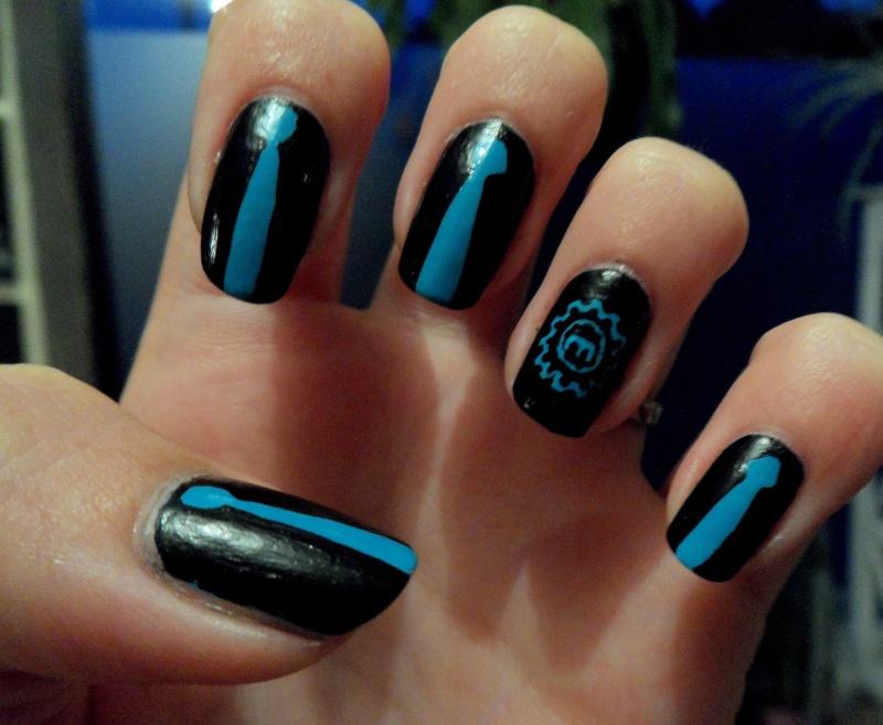 [Nail-art] Fan-art sur ongles - Page 2 Sam_2610