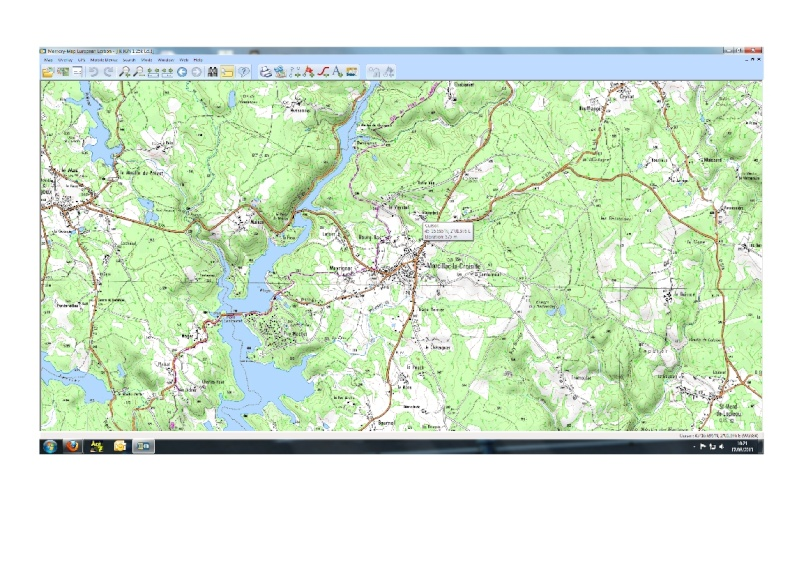 GPS navigation Systems for Walkers in France. M10
