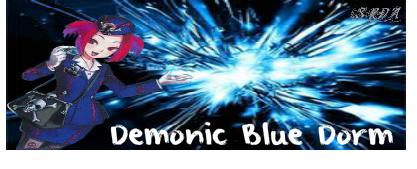 D blue dorm Demoni11