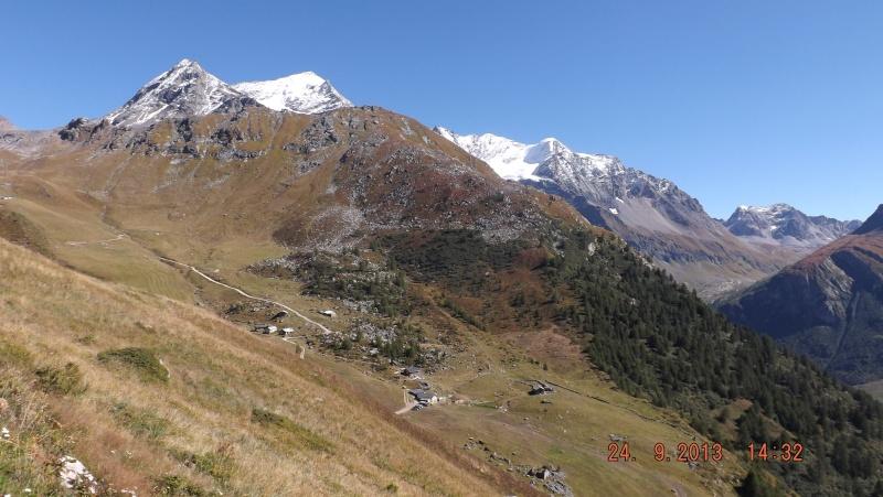 Les Arcs 2000 / col de la Chal / Aiguille Grive Dscf0313