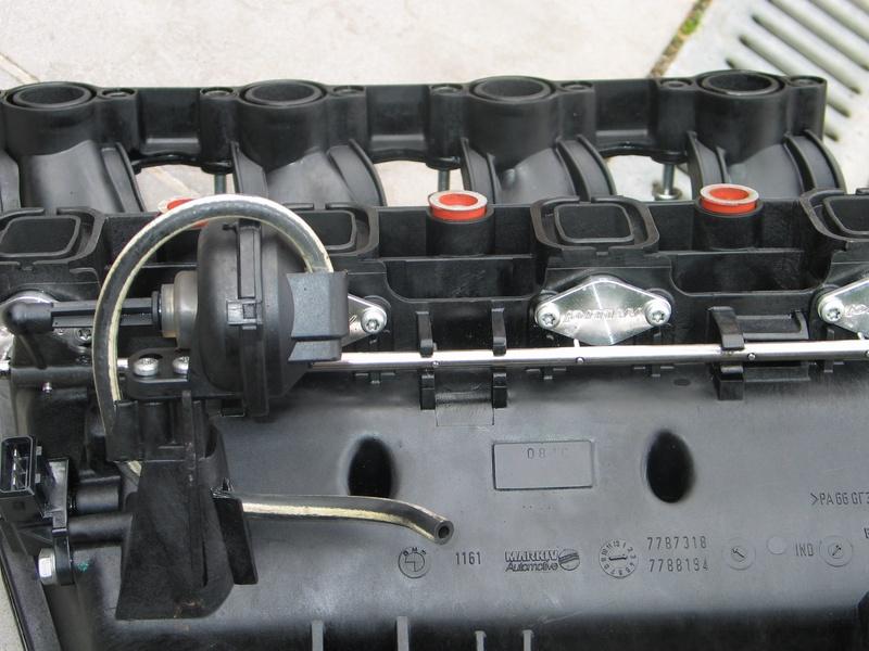 [BMW 320 d E46] Diagnostic de la ligne d'admission Clapet10