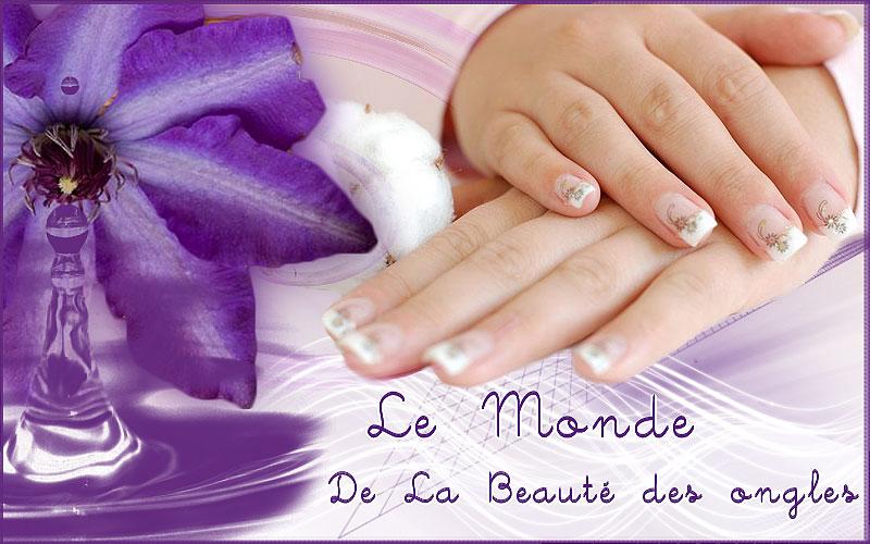Le monde de la beauté des ongles